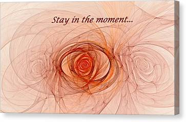 Attune Canvas Print - Stay In The Moment by Doug Morgan