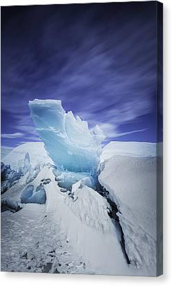 Matanuska Canvas Print - Staysail by Ed Boudreau