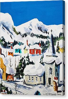 Ste. Saveur Quebec Canvas Print