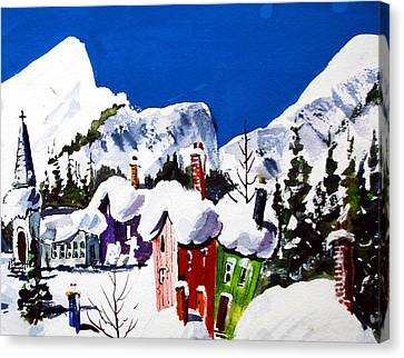 Ste.adele Quebec Canvas Print