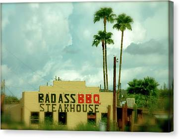 Steak House Canvas Print by Kristine Patti