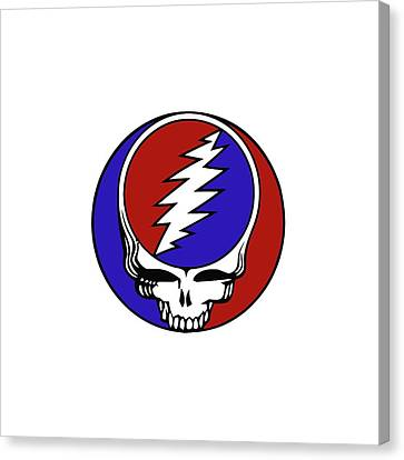 Steal Your Face Canvas Print by Gd