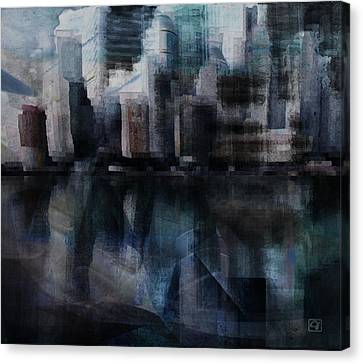 Steam City Canvas Print