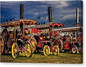 Canvas Print featuring the photograph Steam Power by Chris Lord