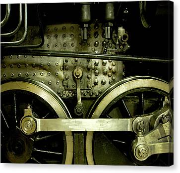 Steam Power I Canvas Print