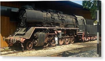 Steam Train  Canvas Print by Pierre Van Dijk