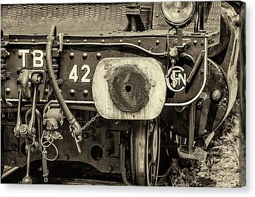 Steam Train Series No 1 Canvas Print by Clare Bambers