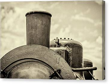 Steam Train Series No 2 Canvas Print by Clare Bambers