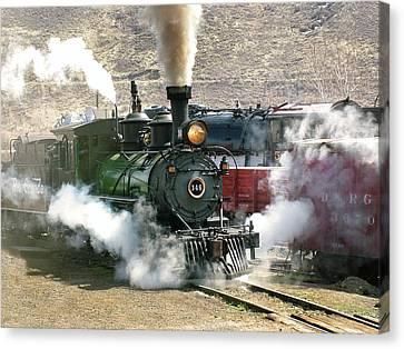 Steam Up Canvas Print by Ken Smith