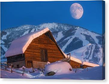Steamboat Dreams Canvas Print by Darren White