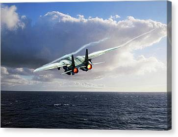 Steamed Canvas Print by Peter Chilelli