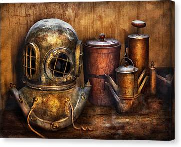 Steampunk - A Collection From My Journeys Canvas Print by Mike Savad
