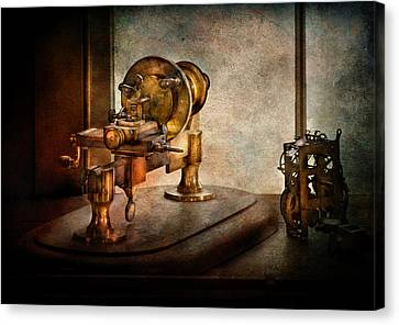 Steampunk - Gear Technology Canvas Print by Mike Savad