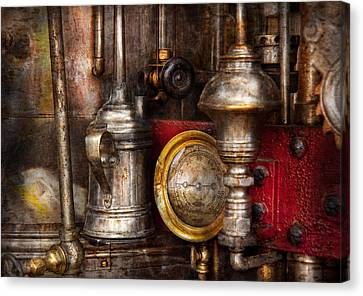 Steampunk - Needs Oil Canvas Print by Mike Savad