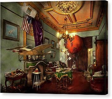 Steampunk - Hall Of Wonderment 1908 Canvas Print