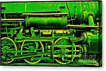 Steampunk Iron Horse No. 3 Canvas Print