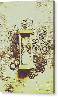 Equipment Canvas Print - Steampunk Time by Jorgo Photography - Wall Art Gallery