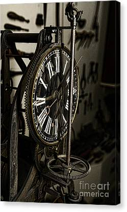 Steampunk - Timekeeper Canvas Print