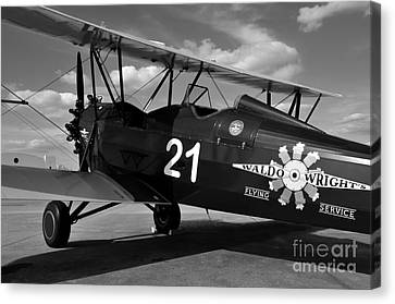 Stearman Biplane Canvas Print by David Lee Thompson