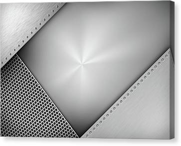 Steel Abstract Canvas Print