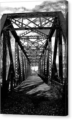 Steel Bridge Canvas Print