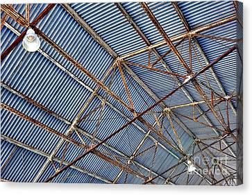 Steel Ceiling Canvas Print
