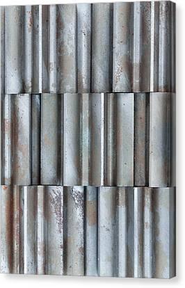Steel Canvas Print by Jim Hughes