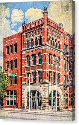 Steiner Building Canvas Print by Phillip Burrow