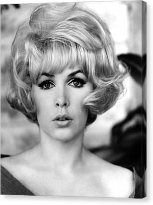 1960s Hairstyles Canvas Print - Stella Stevens, 1967 by Everett
