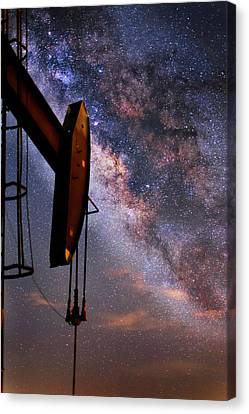 Stellar Energy Canvas Print by Matt Smith