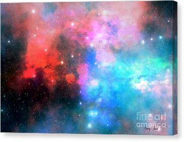 Stellar Relic Canvas Print by Corey Ford
