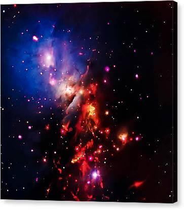 Stellar Sparklers That Last Canvas Print by Britten Adams