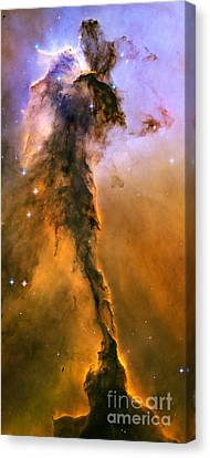 Stellar Spire In The Eagle Nebula Canvas Print