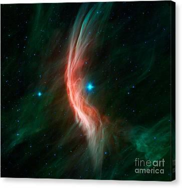 Stellar Winds Flowing Canvas Print by Stocktrek Images