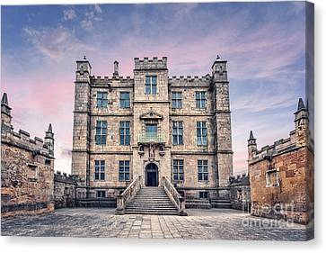 Chateau Canvas Print - Step Back In Time by Evelina Kremsdorf