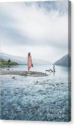 Step Inside The Dream Canvas Print by Evelina Kremsdorf