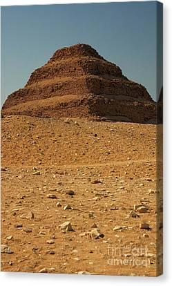 Step Pyramid Canvas Print by Joe  Ng