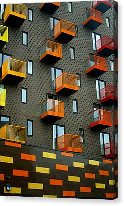 Stepped Living Canvas Print by Jez C Self
