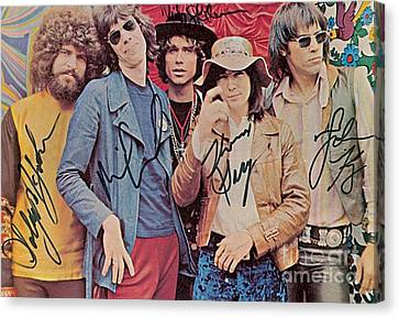 Steppenwolf Autographed Poster Canvas Print by Pd