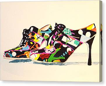 Steppin' Out Canvas Print by Terry Honstead