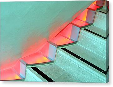 Steppin Up Canvas Print by Jez C Self
