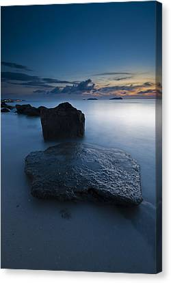 Stepping Stones Canvas Print by Ng Hock How
