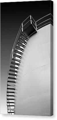 Canvas Print featuring the photograph Stepping Up by Joe Bonita