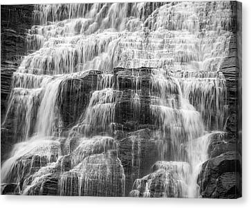 Steps And Flows Canvas Print by Kristopher Schoenleber