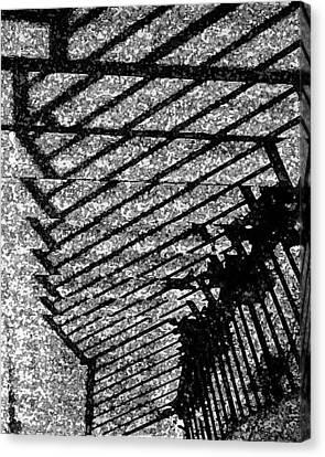 Steps Canvas Print by John Bradburn