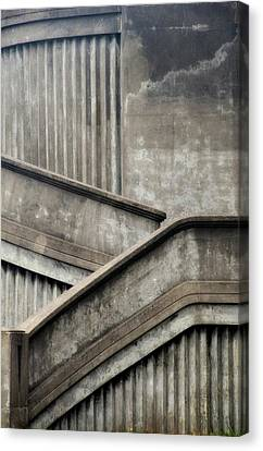 Steps Canvas Print by Newel Hunter