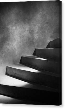 Steps Of Light Canvas Print