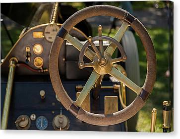 Steering Wheel 1909 Alco Black Beast Canvas Print