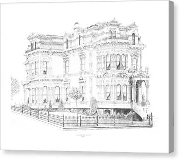 Stetson Mansion Canvas Print by Edward Williams