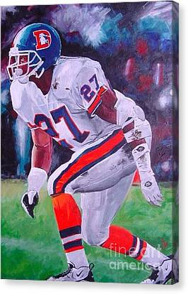 Steve Atwater #1 Canvas Print